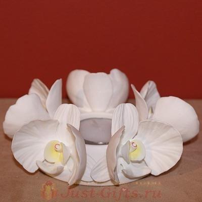 Подсвечник Орхидея