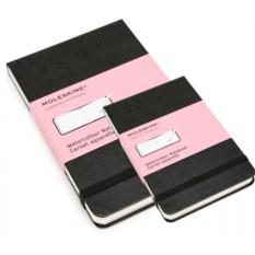 Черная записная книжка для акварели Moleskine Classic