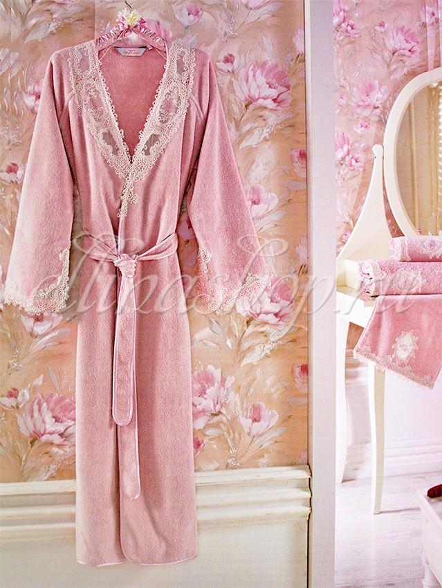 Женский махровый халат Soft cotton