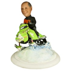 Подарок мужчине по фото Зимние гонки 25 см