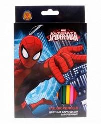 Набор цветных карандашей «Человек-паук»