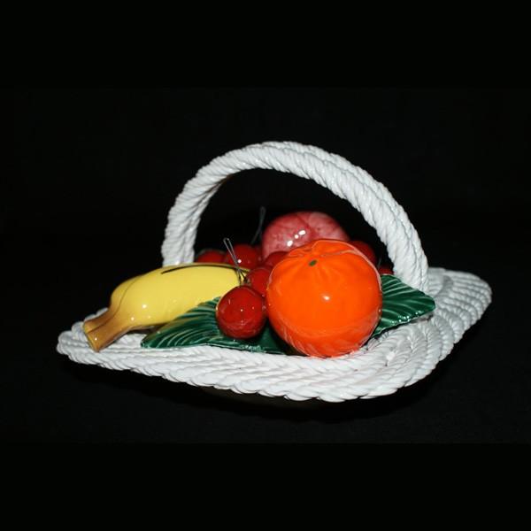 Корзина квадратная с фруктами