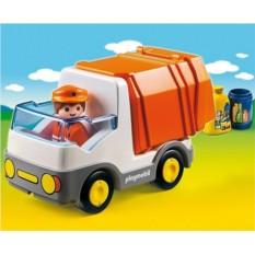 Конструктор Playmobil 1.2.3 Мусоровоз