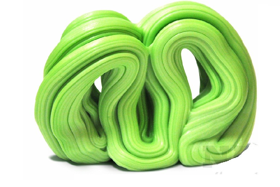 Жвачка для рук XL Pearl green, с запахом