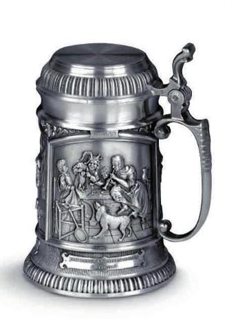 Кружка для пива из олова Meisterwerke