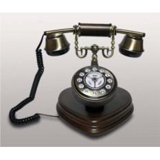 Деревянный кнопочный телефон Kit в стиле ретро