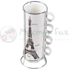 Набор чашек Эйфелева башня