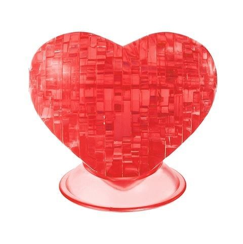 3D головоломка Красное сердце