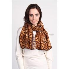Женский шелковый шарф с животным принтом Alviero Martini
