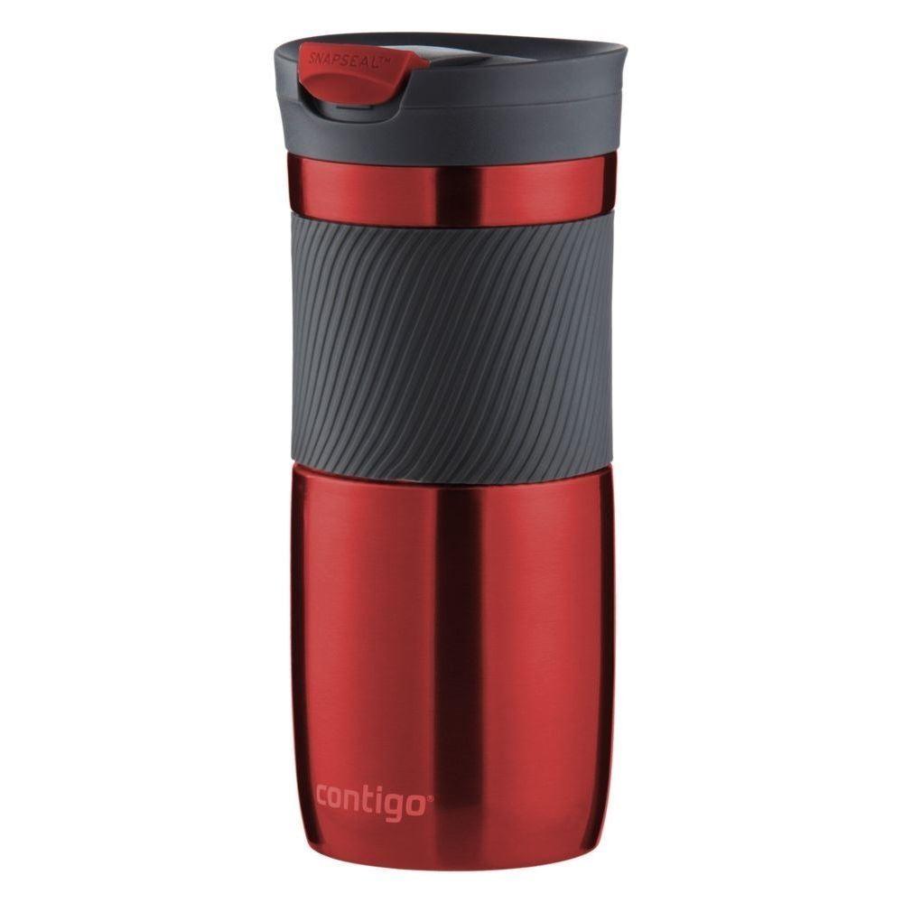 Красный вакуумный термостакан Byron