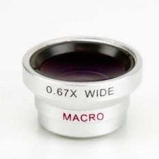 Объектив для телефона Macro+Wide