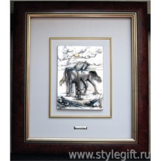 Картина Пасущиеся лошади