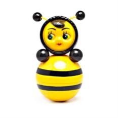 Пластмассовая игрушка Неваляшка Пчелка