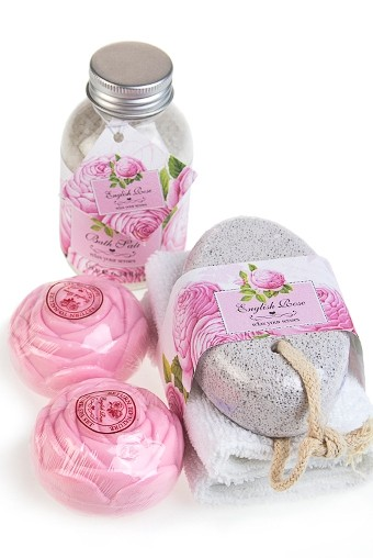Набор туалетный для ванны Розы
