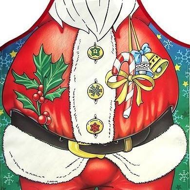 Фартук прикольный Дед Мороз