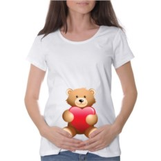 Футболка для беременных Bear Love