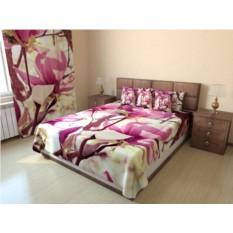 Фотопокрывало Цветочное розовое дерево