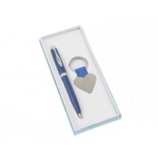 Набор: шариковая ручка, брелок «Сердце»