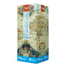 Пластиковый пазл Историческая карта