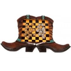 Настольная игра Шашки. Дикий Запад