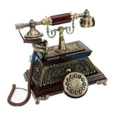 Кнопочный ретро-телефон Эвелин