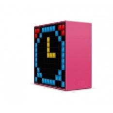 Розовая умная колонка с пиксельным дисплеем Divoom Timebox