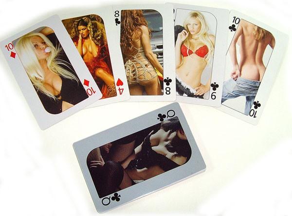 Игральные карты для взрослых Милые Девушки