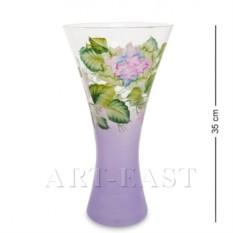 Стеклянная ваза Гортензия