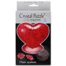 3D-головоломка Crystal Puzzle «Сердце» из 46 деталей