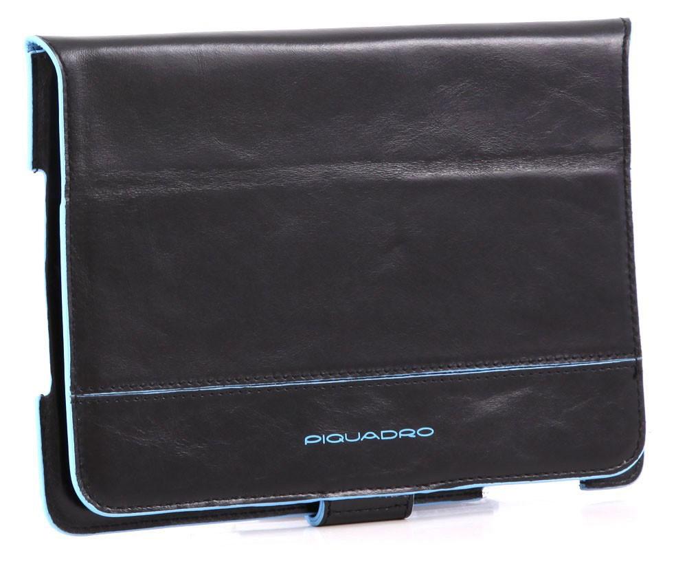 Черный чехол для IPad Piquadro Blue Square
