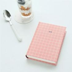 Блокнот Book Pink Grid