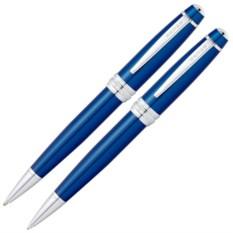 Синий набор Cross Bailey: ручка и карандаш 0.7мм