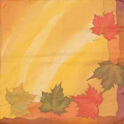 Платок шейный Осенний поцелуй