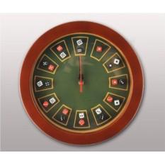 Настенные часы Рулетка