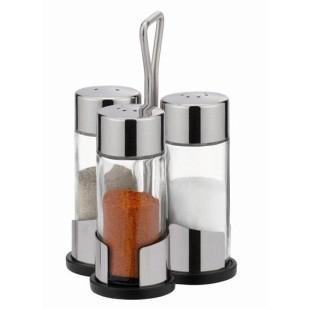 Набор соль-перец-паприка CLUB