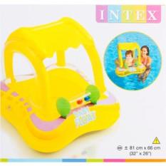 Детский круг для плавания с сиденьем и навесом