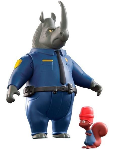 Игрушка Zootropolis 2 фигурки в блистере Макрог и коллега