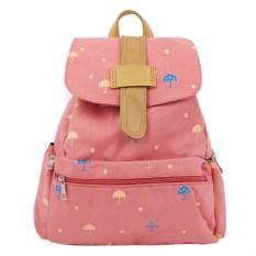 Розовый рюкзак Зонтики
