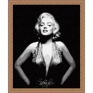 Картина по номерам Мерлин Монро