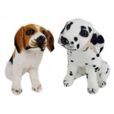 Мягкая игрушка Собака, высота 22 см