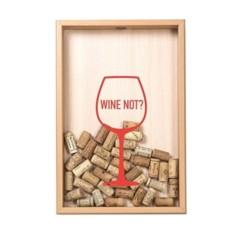 Копилка для винных пробок Wine not? (цвет - бук)