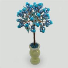 Дерево из бирюзы Бирюзовый цвет