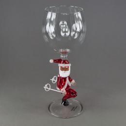 Бокал для вина с Дед Морозом