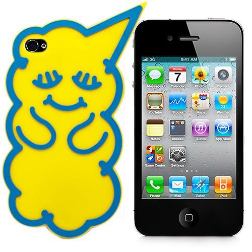 Чехол для iPhone 4/4S Yellow Bear
