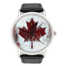 Часы Кленовый лист