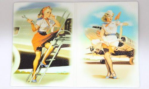 Обложка для паспорта Девушки