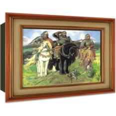 Объемный постер Три Богатыря от Vizzle