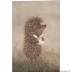 Обложка для паспорта Ежик с котомкой