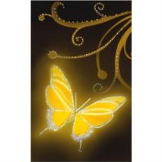 Картина с кристаллами Swarovski Золото в ночи
