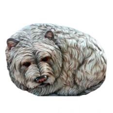 Декоративный камень Собачка Люси